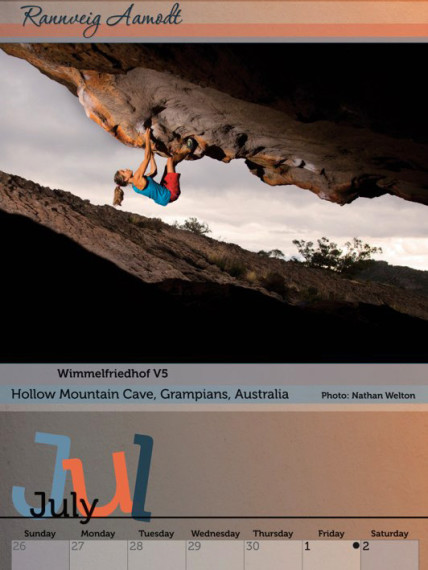 2011 Women of Climbing Thumb