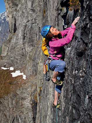 trad climbing norway