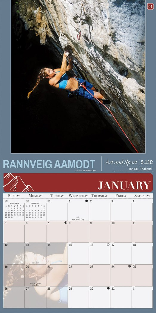 2014 Women of Climbing Rannveig Aamodt