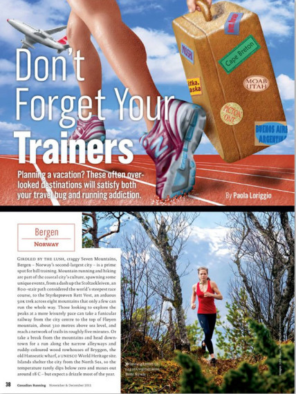 Canadian Running Magazine Rannveig Aamodt