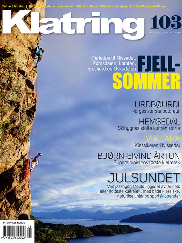 Klatring Magazine 103 Rannveig Aamodt