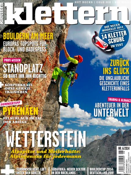 Klettern magazine cover