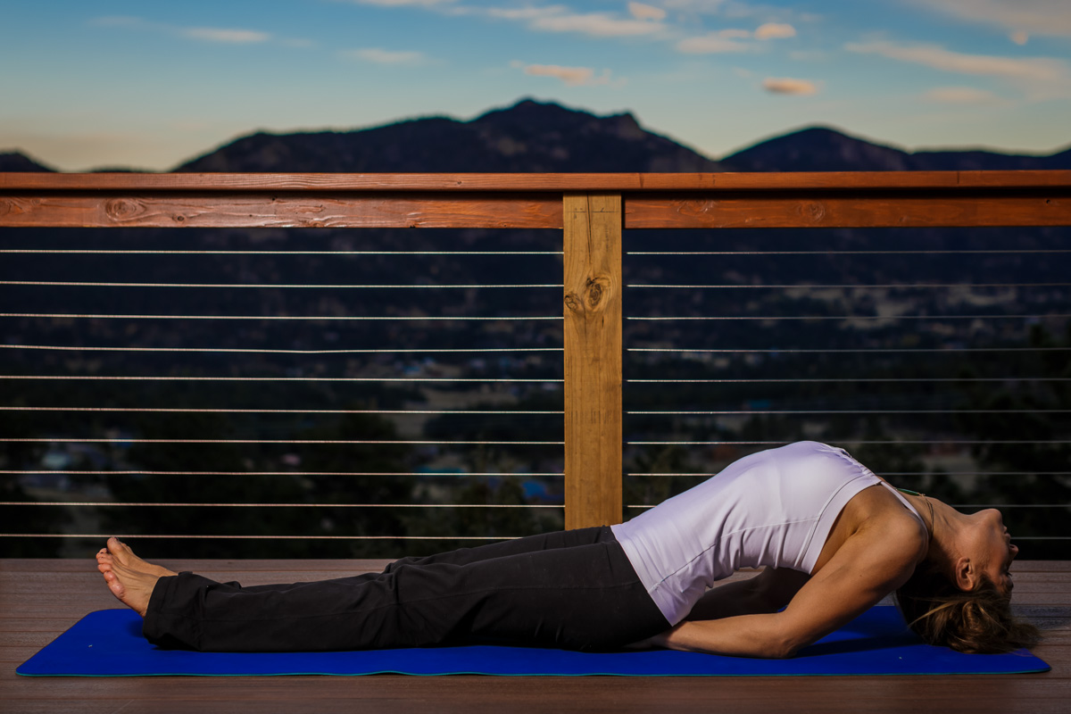 Fish pose - Matsyasana